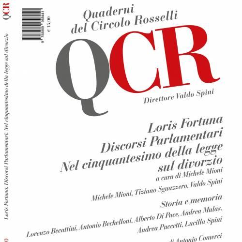 """È uscito il n. 4/2020 dei """"Quaderni del Circolo Rosselli""""."""