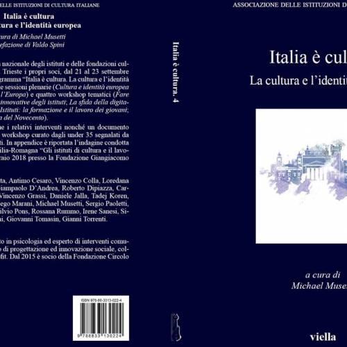 Presentazione del volume: Italia è cultura ‐ La cultura e l'identità europea