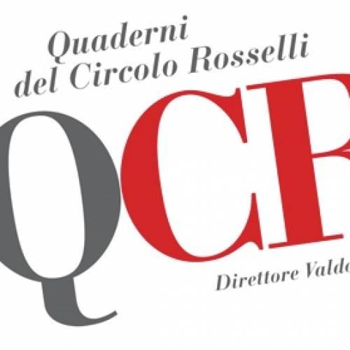 Presentazione del n.3/2018 dei Quaderni del Circolo Rosselli