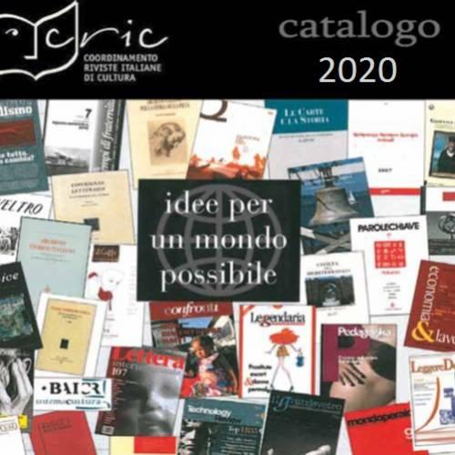 CATALOGO 2020 DELLE RIVISTE CULTURALI – DOWNLOAD