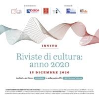 Le riviste italiane di cultura. Le innovazioni e le sfide 15/12/2020 – ore 10:00