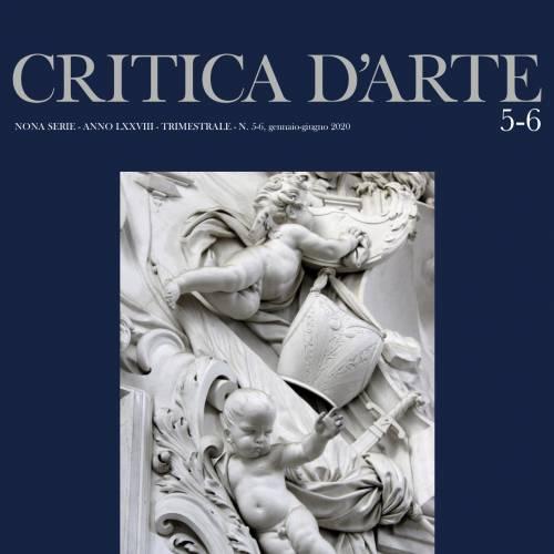 """Nuovo numero rivista """"CRITICA D'ARTE"""""""