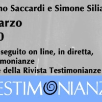 Prossimo evento rivista Testimonianze: La Toscana della cultura dei diritti