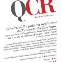 Presentazione nuovo numero dei Quaderni del Circolo Rosselli