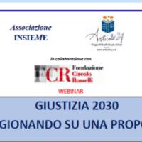 Giutizia2030- Ragionando su una proposta. Seminario