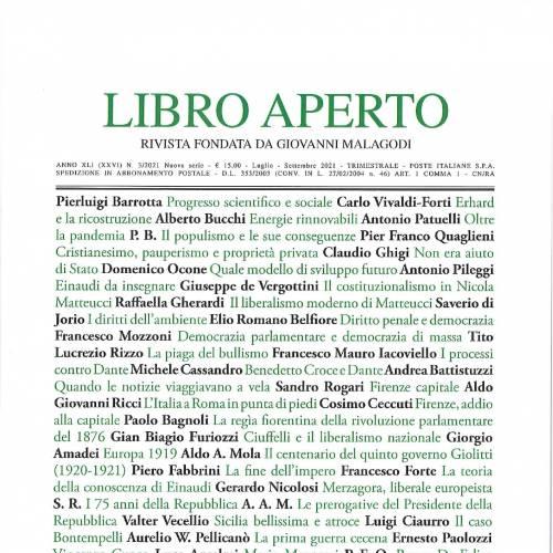"""NUOVO NUMERO di """"LIBRO APERTO"""" n.106"""